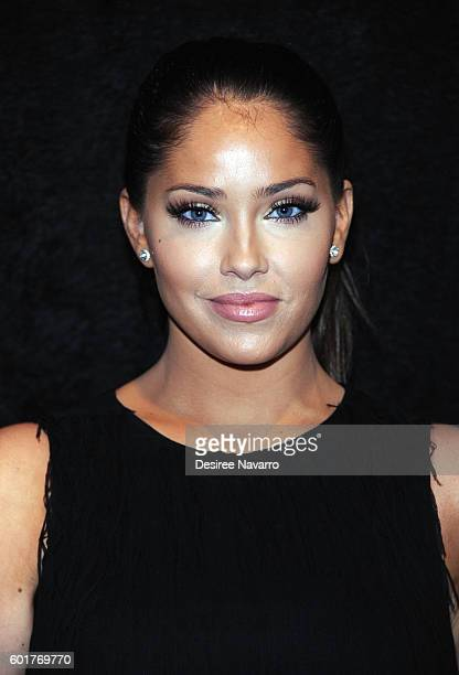 TV personality Olivia Pierson attends the Nicole Miller show during New York Fashion Week The Shows September 2016 at The Gallery Skylight at...