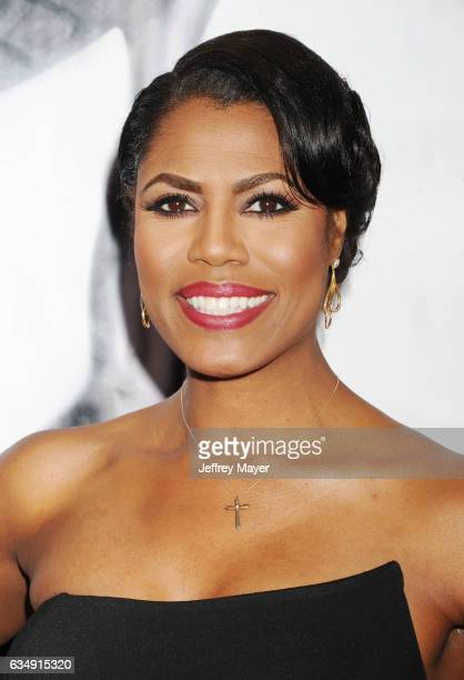TV personality Omarosa Manigault arrives at the 48th NAACP Image Awards at Pasadena Civic Auditorium on February 11 2017 in Pasadena California