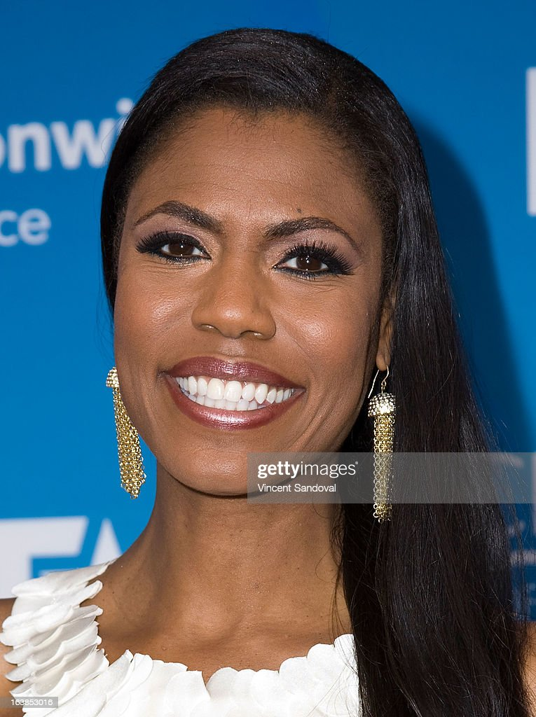TV personality Omarosa Manigault attends the BET 13th annual 'Celebration Of Gospel' at Orpheum Theatre on March 16, 2013 in Los Angeles, California.