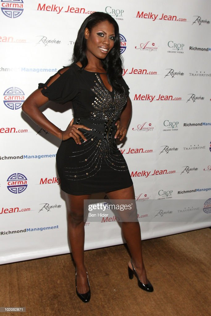 TV Personality Omarosa Manigault-Stallworth attends the 3rd annual Geminis Give Back at 1OAK on June 13, 2010 in New York City.