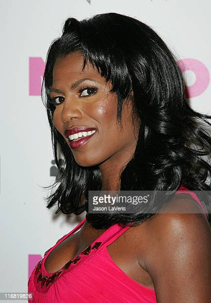 Personality Omarosa Manigault-Stallworth attends the Nylon Magazine & MySpace 3D Party on June 3, 2008 in Los Angeles, California.