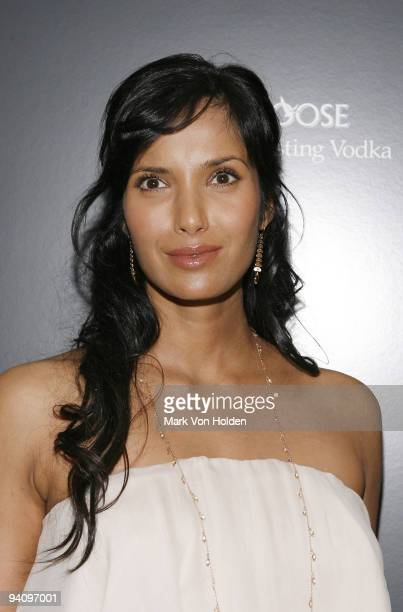 """Personality Padma Lakshmi attends a screening of """"A Single Man"""" hosted by the Cinema Society and Tom Ford at The Museum of Modern Art on December 6,..."""