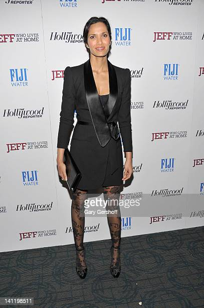 TV personality Padma Lakshmi attends a screening of Jeff Who Lives at Home at the Sunshine Landmark on March 12 2012 in New York City