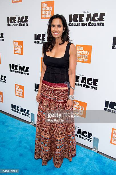 TV personality Padma Lakshmi attends the Ice Age Collision Course New York screening at Walter Reade Theater on July 7 2016 in New York City