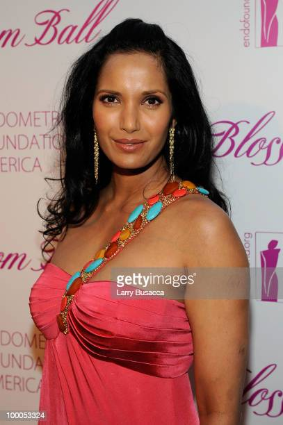 Personality Padma Lakshmi attends the Second Annual Blossom Ball benefiting the Endometriosis Foundation of America at The New York Public Library -...