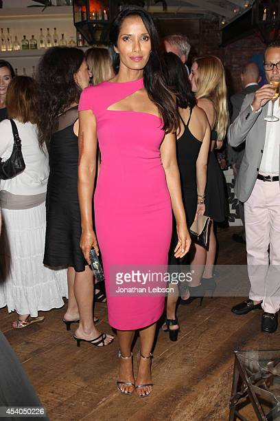 TV personality Padma Lakshmi attends Variety and Women in Film Emmy Nominee Celebration powered by Samsung Galaxy on August 23 2014 in West Hollywood...