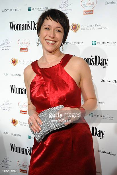 TV personality Paige Davis attends the 7th Annual Red Dress Awards presented by Woman's Day at Jazz at Lincoln Center on February 10 2010 in New York...
