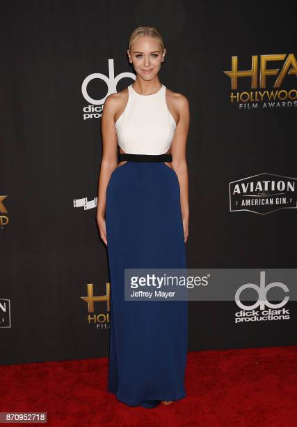 Personality Paige Mobley attends the 21st Annual Hollywood Film Awards at The Beverly Hilton Hotel on November 5, 2017 in Beverly Hills, California.