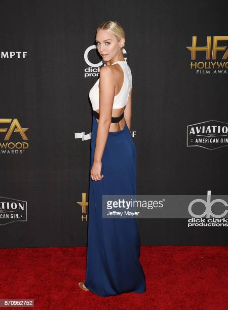 TV personality Paige Mobley attends the 21st Annual Hollywood Film Awards at The Beverly Hilton Hotel on November 5 2017 in Beverly Hills California