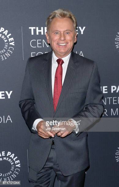 Personality Pat Sajak attends The Wheel of Fortune: 35 Years as America's Game hosted by The Paley Center For Media at The Paley Center for Media on...