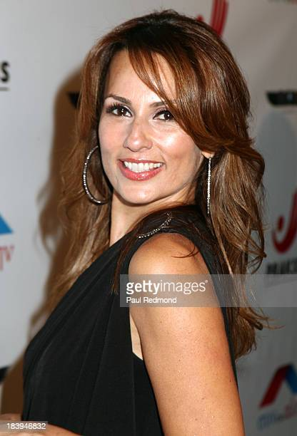 TV personality Patricia Kara attends Philhellenes Gala at SkyBar at the Mondrian Los Angeles on October 9 2013 in West Hollywood California