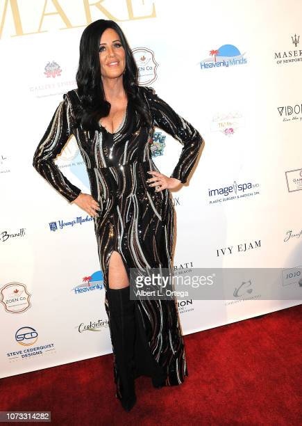 Personality Patti Stanger attends the Amare's Second Year Anniversary 'Believe Issue' Party held at Sofitel Los Angeles At Beverly Hills on December...