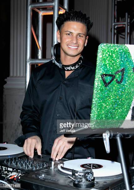 """Personality Paul """"DJ Pauly D"""" DelVecchio performs at """"Hilarity For Charity"""" To Benefit The Alzheimer's Association at Vibiana on January 13, 2012 in..."""