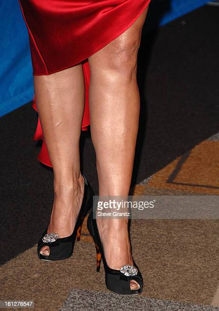 TV personality Paula Abdul arrives at the taping of Idol Gives Back held at the Kodak Theatre on April 6 2008 in Hollywood California