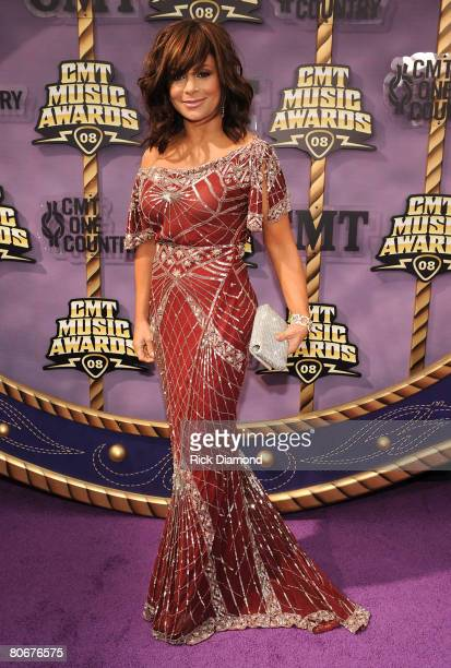 TV personality Paula Abdul attends the 2008 CMT Music Awards at Curb Event Center at Belmont University on April 14 2008 in Nashville Tennessee