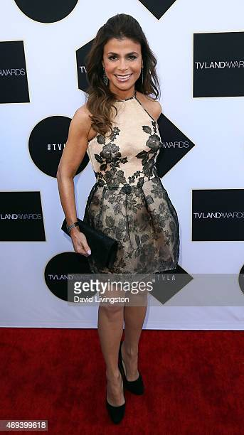 TV personality Paula Abdul attends the 2015 TV Land Awards at the Saban Theatre on April 11 2015 in Beverly Hills California