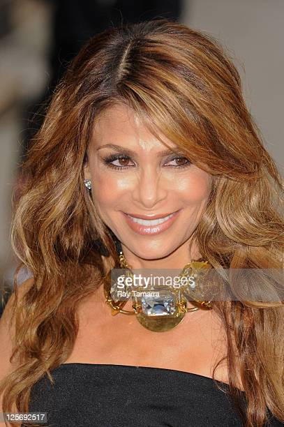 """Personality Paula Abdul enters the """"Late Show With David Letterman"""" taping at the Ed Sullivan Theater on September 20, 2011 in New York City."""