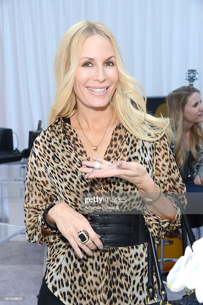 TV personality Peggy Tanous attends the GRAMMY Gift Lounge during the 55th Annual GRAMMY Awards at STAPLES Center on February 9, 2013 in Los Angeles, California.