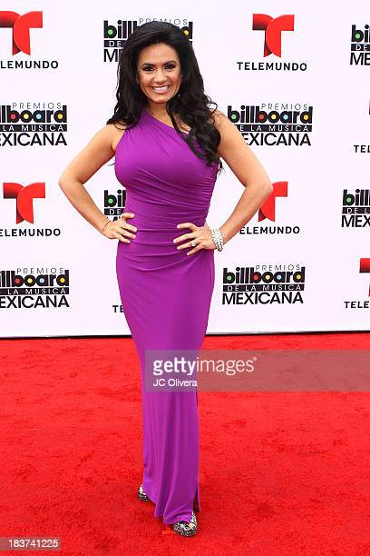 Personality Penelope Menchaca attends The 2013 Billboard Mexican Music Awards at Dolby Theatre on October 9 2013 in Hollywood California