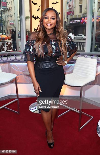 TV personality Phaedra Parks visits Hollywood Today Live at W Hollywood on October 27 2016 in Hollywood California