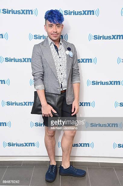 TV personality Phi Phi O'Hara visits SiriusXM Studios on August 24 2016 in New York City