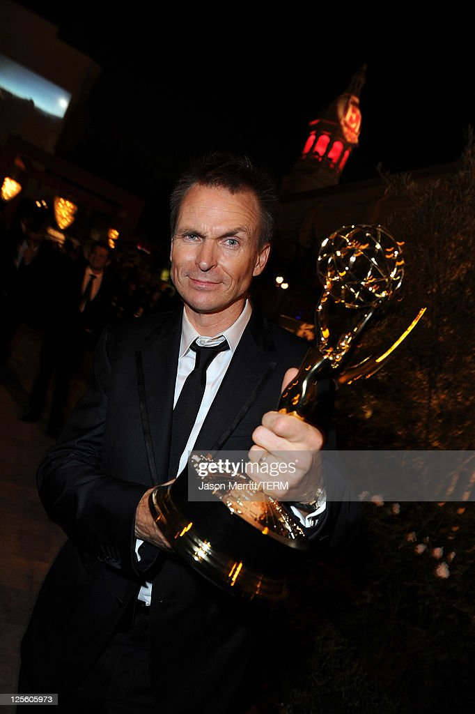 TV personality Phil Keoghan attends the 15th annual Entertainment Tonight Emmy party presented by Visit California at Vibiana on September 18, 2011 in Los Angeles, California.