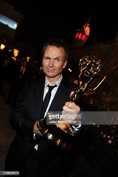 TV personality Phil Keoghan attends the 15th annual Entertainment Tonight Emmy party presented by Visit California at Vibiana on September 18 2011 in...