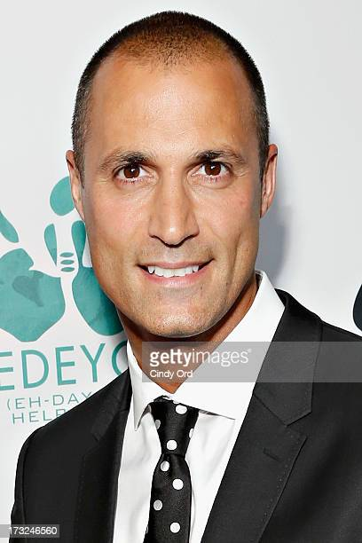 TV personality/ photographer Nigel Barker attends the 2013 Edeyo Gives Hope Ball at Highline Ballroom on July 10 2013 in New York City