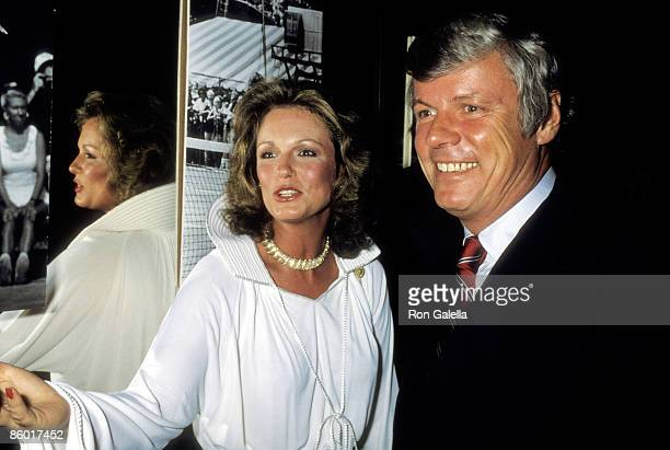 TV personality Phyllis George and Governor John Y Brown Jr attend the Eighth Annual Robert F Kennedy ProCelebrity Tennis Tournament PreParty...