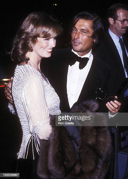 TV personality Phyllis George and producer Robert Evans attend The Act Opening Night Performance on October 29 1977 at the Majestic Theatre in New...