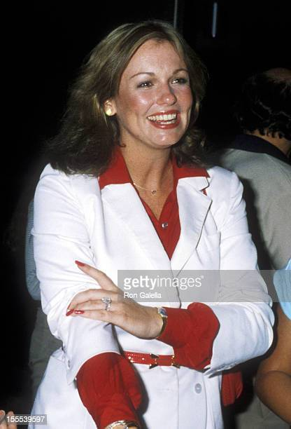 TV personality Phyllis George attends the 1979 International Special Olympics Summer Games on August 9 1979 at The State University of New York...