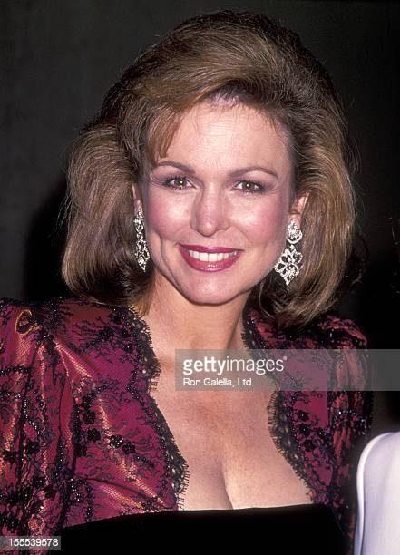 TV personality Phyllis George attends the 1994 Carousel of Hope Ball to Benefit The Barbara Davis Center for Childhood Diabetes on October 28 1994 at...