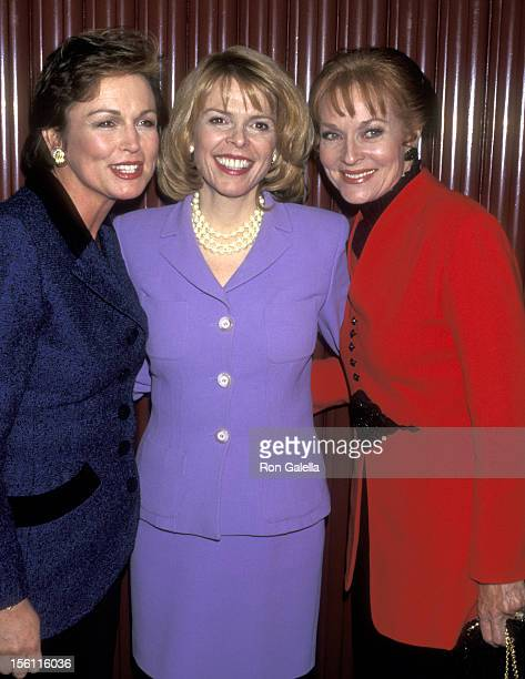 TV Personality Phyllis George Former Lieutenant Governor of New York Betsy McCaughey Ross and Actress Lee Meriwether attend the 10th Annual Women's...