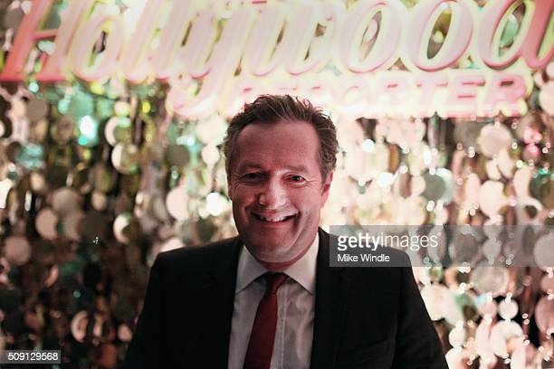 Personality Piers Morgan attends The Hollywood Reporter's 4th Annual Nominees Night at Spago on February 8, 2016 in Beverly Hills, California.