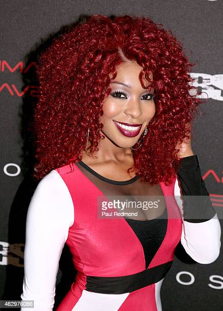 TV personality Porscha Coleman attends Primary Wave 9th Annual PreGrammy Party at RivaBella on February 7 2015 in West Hollywood California