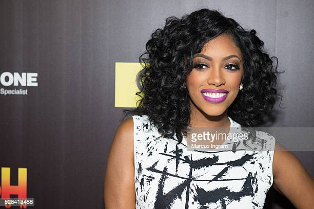 TV personality Porsha Williams attends TV One's Rickey Smiley For Real season 2 premiere at SCADshow on May 4 2016 in Atlanta Georgia