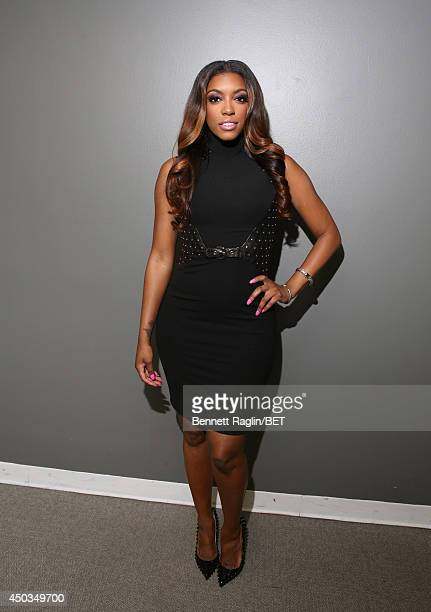 TV personality Porsha Williams visits 106 Park at BET studio on June 9 2014 in New York City