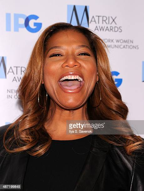 TV personality Queen Latifah attends the 2014 Matrix Awards at The Waldorf=Astoria on April 28 2014 in New York City