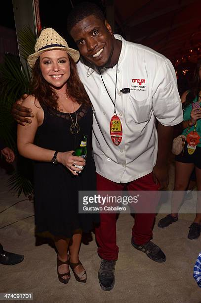 Personality Rachael Ray and Chef David Stample attend Amstel Light Burger Bash presented by Pat LaFrieda Meats hosted by Rachael Ray during the Food...