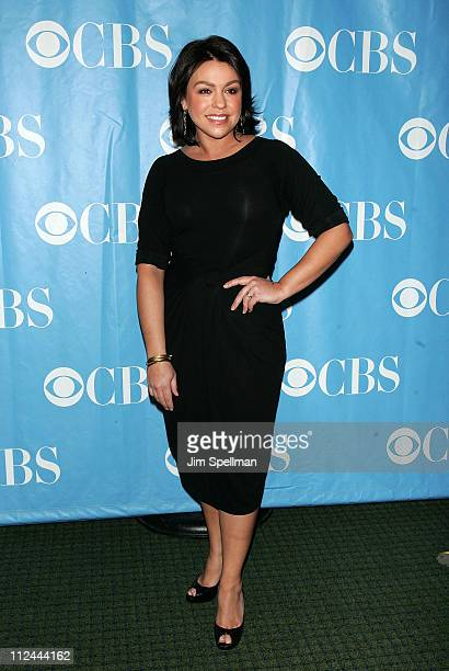 TV Personality Rachael Ray arrives at the 2008 CBS UpFront at Carnegie Hall on May 14 2008 in New York City