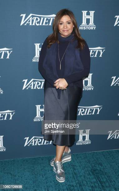 Personality Rachael Ray attends the 2nd Annual Variety Salute to Service at Cipriani Downtown on November 12, 2018 in New York City.