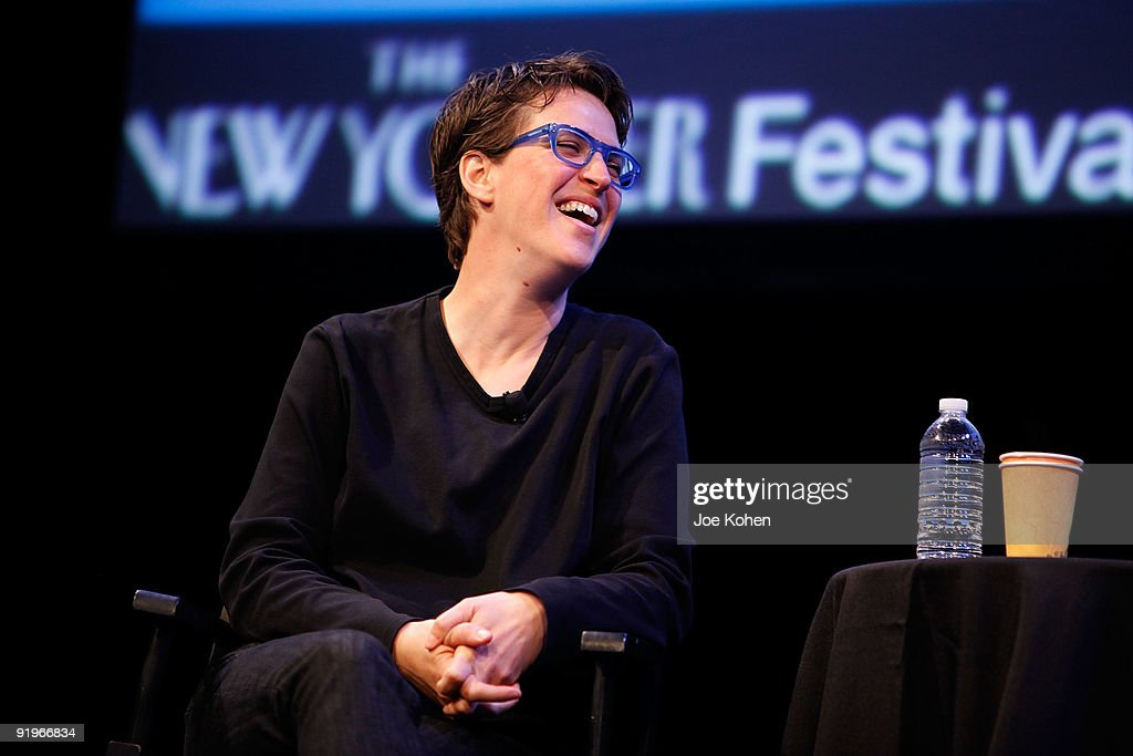 The 2009 New Yorker Festival: Rachel Maddow Interview : News Photo