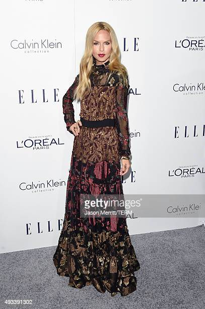 TV personality Rachel Zoe attends the 22nd Annual ELLE Women in Hollywood Awards at Four Seasons Hotel Los Angeles at Beverly Hills on October 19...
