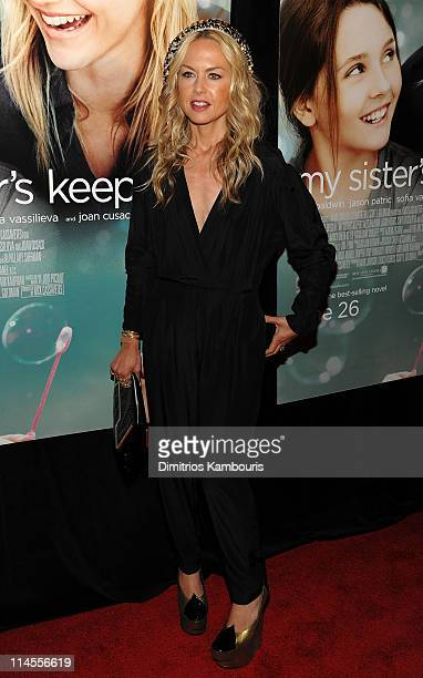 "Personality Rachel Zoe attends the premiere of ""My Sister's Keeper"" at the AMC Lincoln Square on June 24, 2009 in New York City."