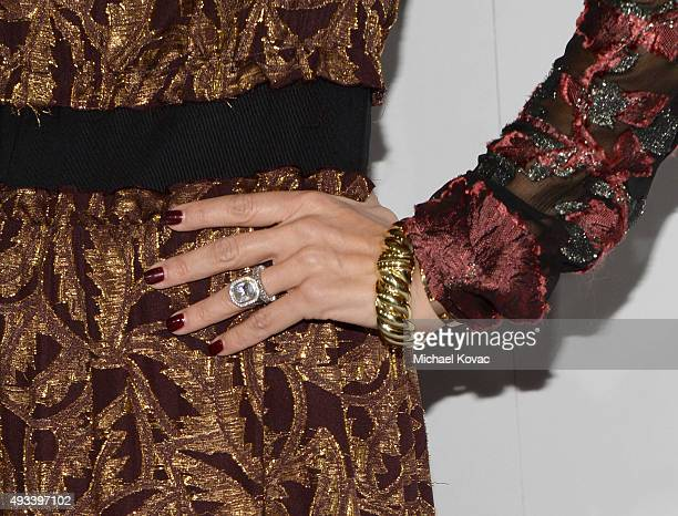 TV personality Rachel Zoe fashion detail attends the 22nd Annual ELLE Women in Hollywood Awards at Four Seasons Hotel Los Angeles at Beverly Hills on...