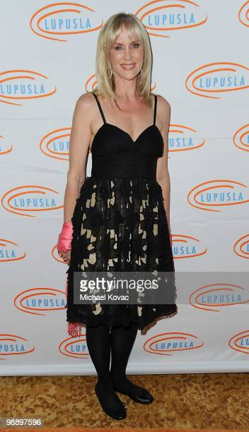 TV personality Rachelle Carson Begley attends the 10th Annual Lupus LA Orange Ball at the Beverly Wilshire Four Seasons Hotel on May 6 2010 in...