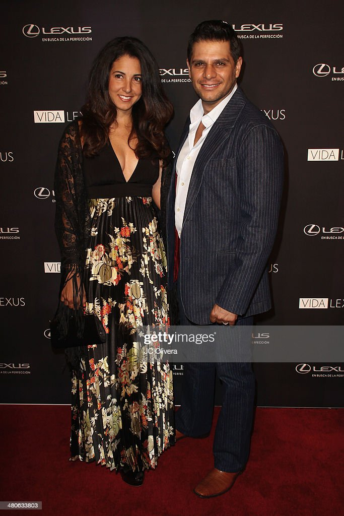 TV personality Rafael Mercadante and wife Maria Aragon attend Sabor de Lujo at Vida Lexus event celebrating latino culture in Los Angeles at Sofitel Hotel on March 25, 2014 in Los Angeles, California.