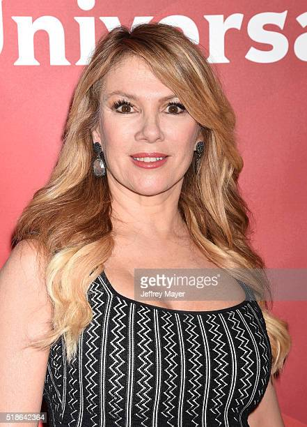 TV personality Ramona Singer arrives at the 2016 Summer TCA Tour NBCUniversal Press Tour at the Four Seasons Hotel Westlake Village on April 1 2016...