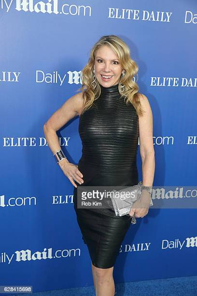 Personality Ramona Singer attends the DailyMailcom Elite Daily Holiday Party with Jason Derulo at Vandal on December 7 2016 in New York City