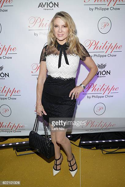 Personality Ramona Singer attends the Philippe Chow Golden Revolution at Philippe Chow on November 9 2016 in New York City